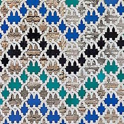 Tile pattern, Alhambra