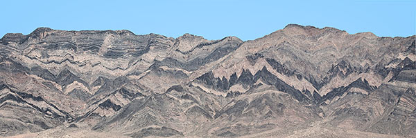 Mountain face, Eureka Valley, Death Valley